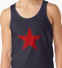 Vintage Look Russian Red Star Tank Top