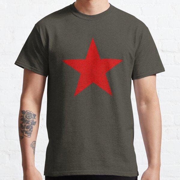 Vintage Look Rouge Etoile Russe T-shirt classique