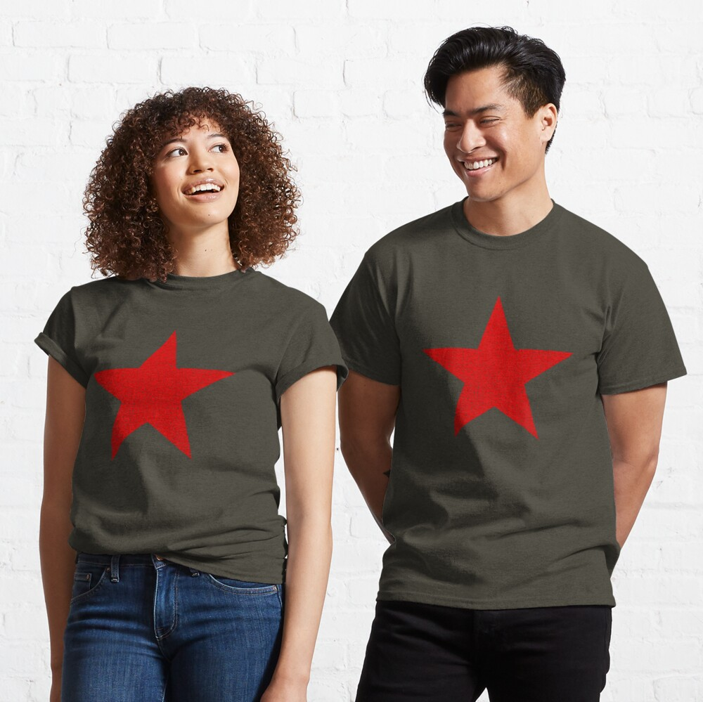Vintage Look Russian Red Star Classic T-Shirt