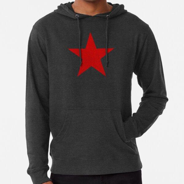 Vintage Look Russian Red Star Lightweight Hoodie