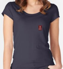 Keep calm and listen to @SingerEvita Women's Fitted Scoop T-Shirt