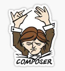 Composer Sticker