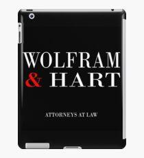 Wolfram & Hart iPad Case/Skin
