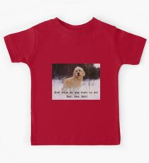 What do you want to do?  Kids Tee