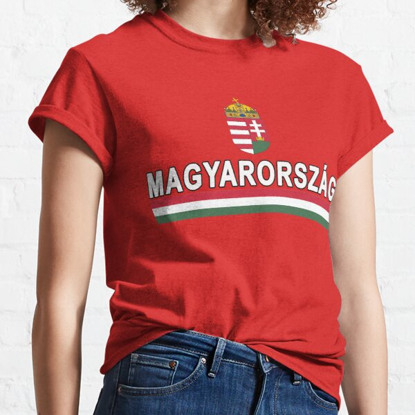 Hungary Team Jersey Design - National Magyarorszag Classic T-Shirt