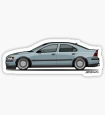Taylor's Low Platinum Green Volvo S60 T5 P20  Sticker