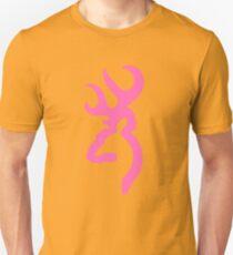 Browning - Pink Unisex T-Shirt