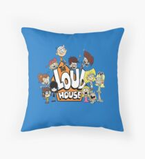 In the Loud House Throw Pillow
