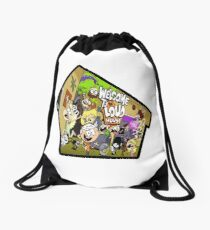 Welcome to the Loud House Drawstring Bag