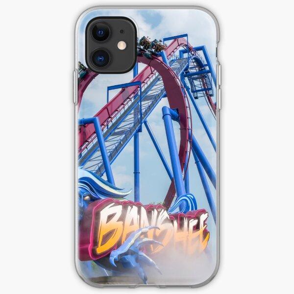 Banshee Roller Coaster  iPhone Soft Case