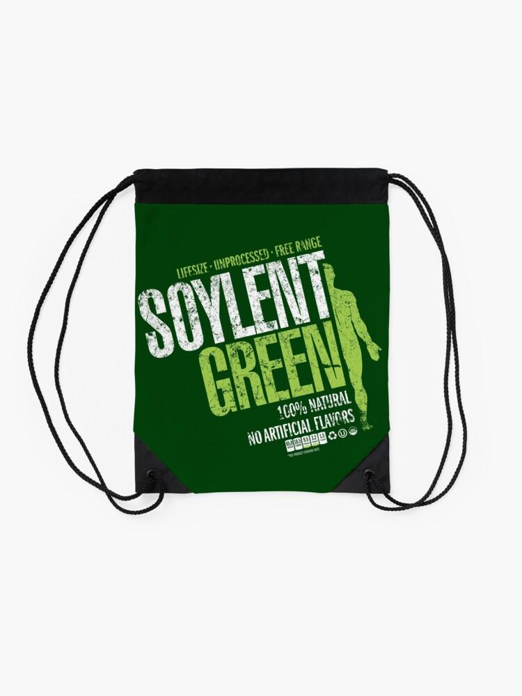 Alternate view of Soylant Green Drawstring Bag