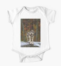 Double Trouble - Timber Wolves One Piece - Short Sleeve