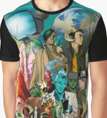 Saga comic Characters geek Graphic T-Shirt