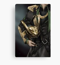Helmet Series Loki Canvas Print