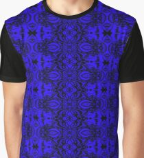 Blue Zentapestry Graphic T-Shirt