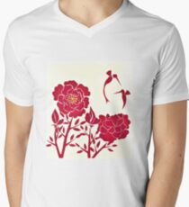 Delicate Nature Men's V-Neck T-Shirt
