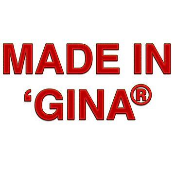MADE IN 'GINA® (That's where we all started...) by BringCrazyBack