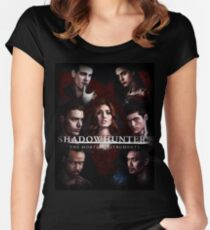 Shadowhunters - Poster #1 Women's Fitted Scoop T-Shirt