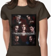 Shadowhunters #1 Womens Fitted T-Shirt