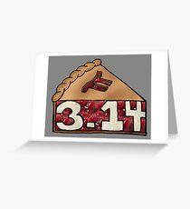 Pi Pie - Fun Math Pun Greeting Card