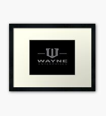 Wayne Enterprises Framed Print