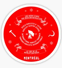 2017 IMT Winter School Montreal- memorabilia Sticker