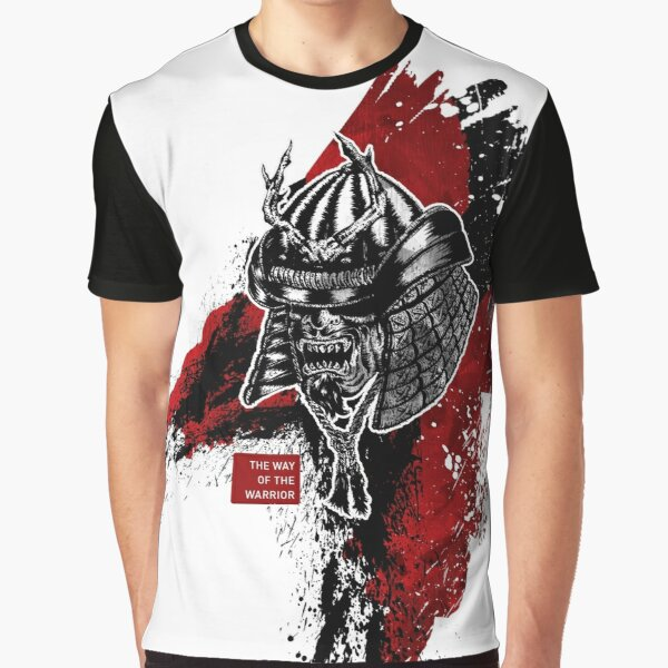 The Way Of The Warrior - Kabuto Graphic T-Shirt