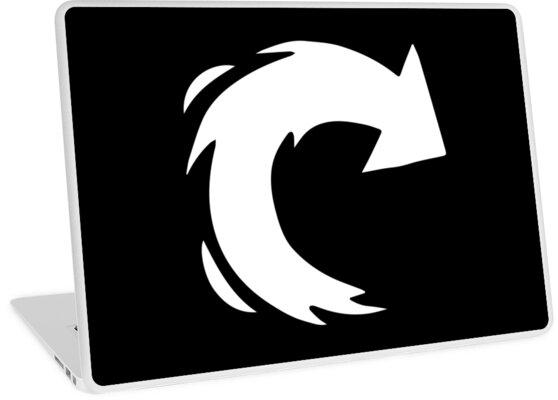 'Reinhart's Fire Strike icon' Laptop Skin by andli826