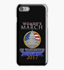 Women's March on Washington 2017 Redbubble T  Shirts iPhone Case/Skin