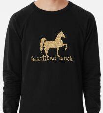 Heartland Ranch w / Pferd Leichter Pullover