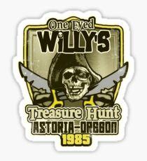 Willy's Treasure Hunt Sticker