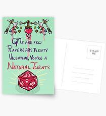 D&D Valentine Postcards