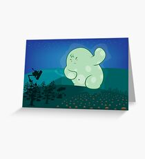 Revenge of the forest guardian Greeting Card
