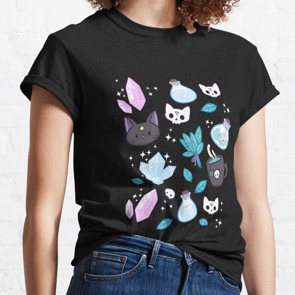 Herb Witch // Black Classic T-Shirt