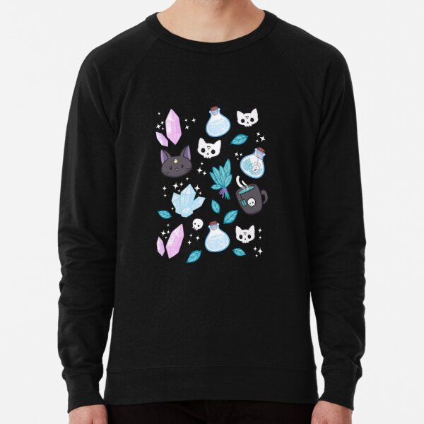 Herb Witch // Black | Nikury Lightweight Sweatshirt