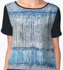 Forest by Blue Lake Women's Chiffon Top