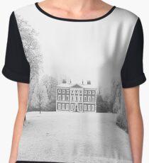 Frosty Lytham Hall Women's Chiffon Top