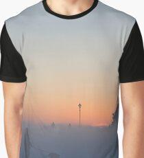 Winter Freeze - Lytham Windmill Graphic T-Shirt