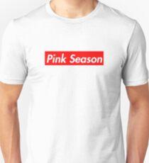 Pink Season - supreme font Unisex T-Shirt