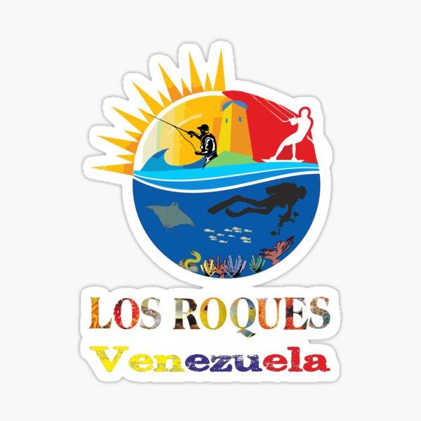 LOS ROQUES VENEZUELA Pegatina