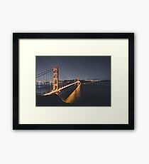 Long Exposure Golden Gate Framed Print