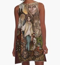 Labyrinth Tribute (Dentro del Laberinto) A-Line Dress