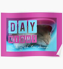 Thinking of You - Hamster 1 - Poster