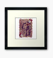 Gilda In the Pink Framed Print