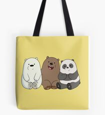 We Bare Bears Cubs Babies Tote Bag