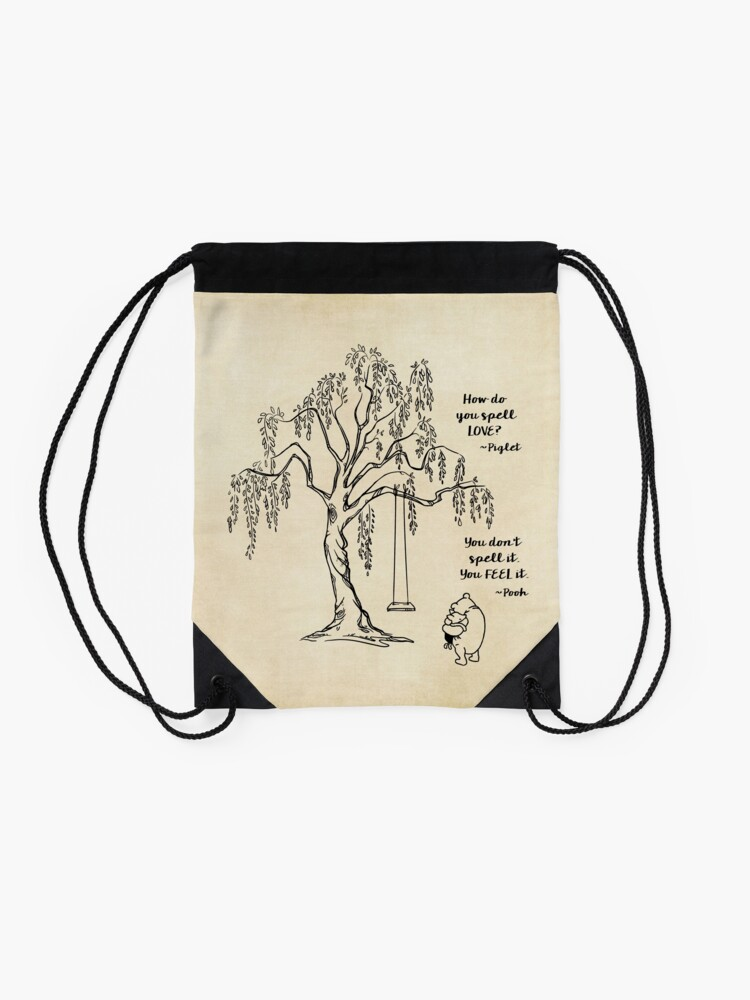 Alternate view of Winnie the Pooh - Friends Forever Drawstring Bag