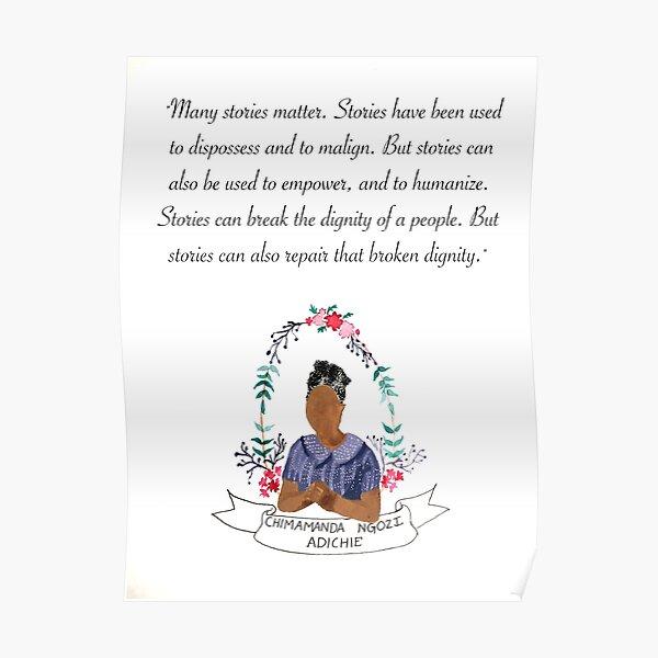 Chimamanda Ngozi Adichie  Poster