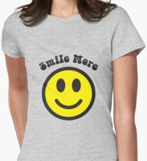 Smile More Face T-Shirt