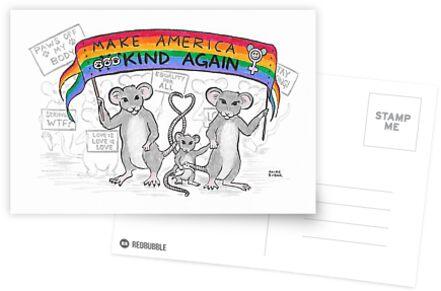 Make America Kind Again by Akire Bubar