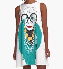 Iris Apfel A-Line Dress